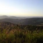Le mont Briançon vu de la Durande