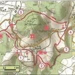Carte PR le mont Birançon