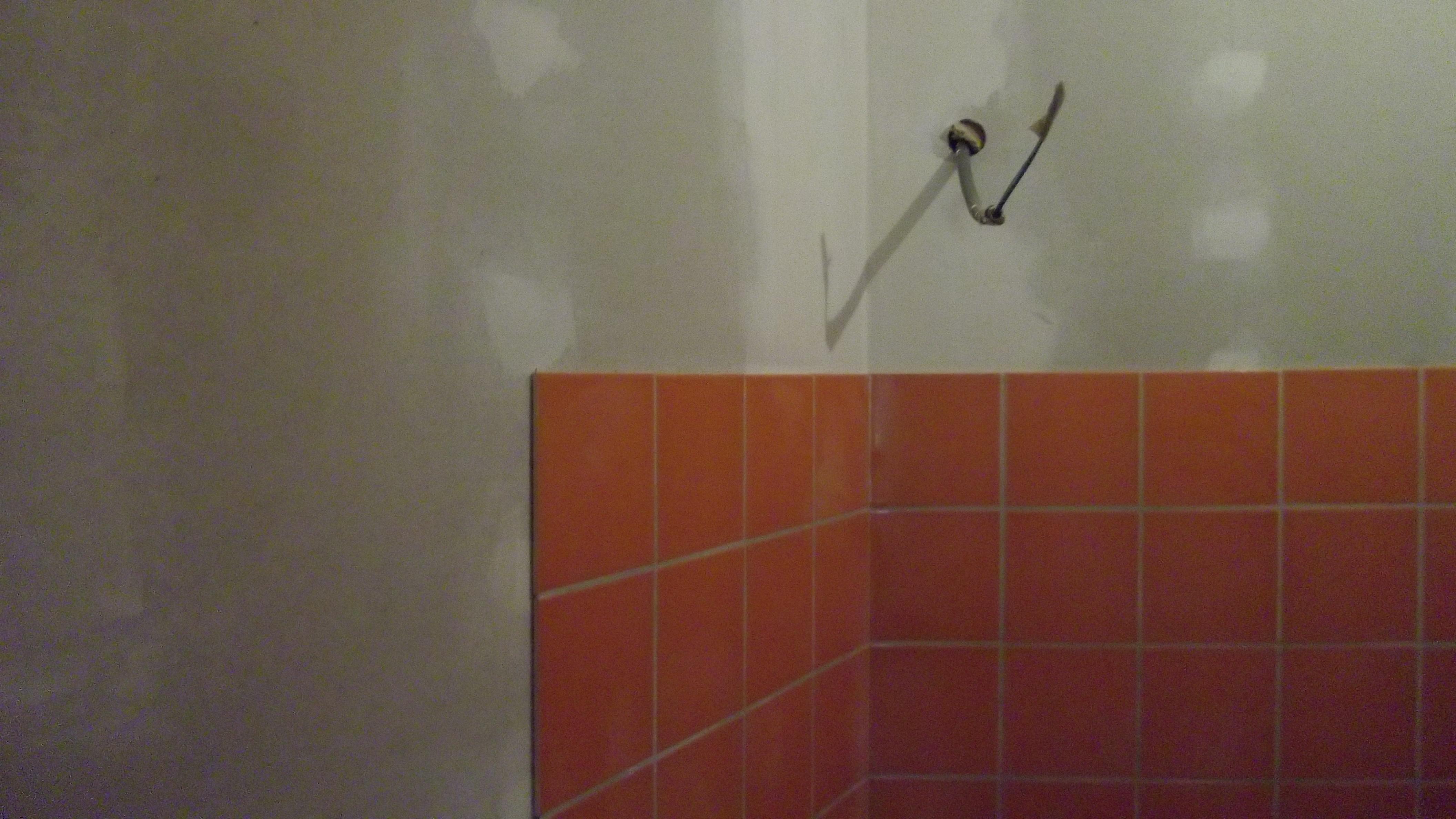 Faïence dans les toilettes